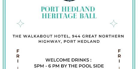 Port Hedland Heritage Ball tickets