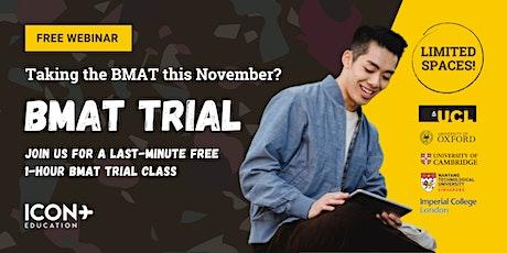 BMAT Trial Class (2nd Oct 2021) tickets