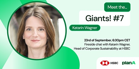 Meet the Giants #7: HSBC on Sustainable finance, ESG & Decarbonisation tickets
