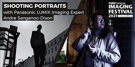 Shooting portraits with Panasonic tickets
