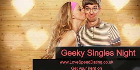 Speed Dating Singles Night **Geek Night** Birmingham tickets