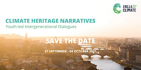Sustainable Cultural Tourism - Climate Heritage Narratives tickets