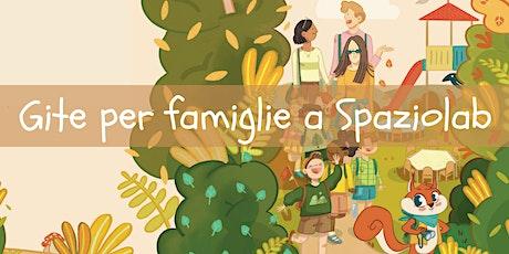 In gita con la famiglia a Spaziolab! biglietti
