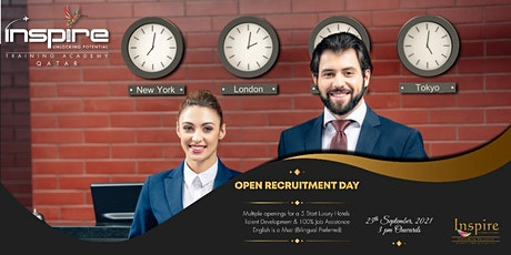 OPEN DAY (RECRUITMENT) - HOSPITALITY tickets