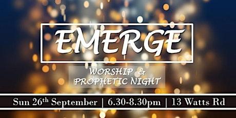 Emerge Worship Night tickets