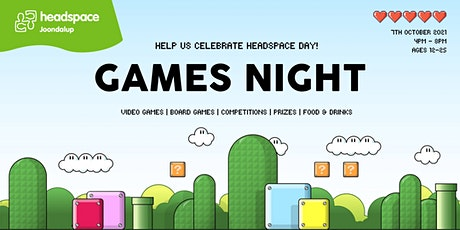 GAMES NIGHT at headspace Joondalup tickets