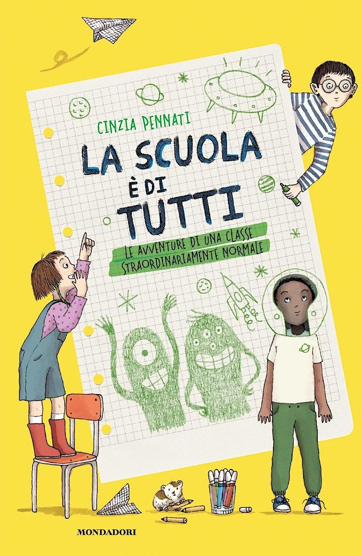 """Immagine Cinzia Pennati presenta """"La scuola è di tutti"""" ai Giardini Luzzati, Genova"""