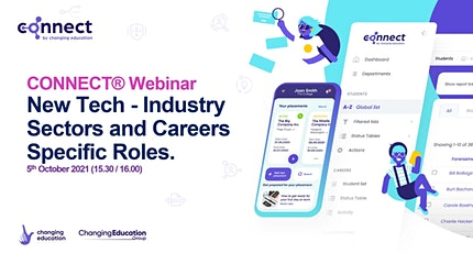 """CONNECT® """"New Tech"""" - Industry Sectors and Careers Specific Roles tickets"""
