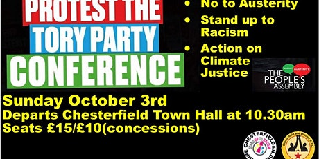 Chesterfield Coach to Demo at Tory Confernce October 3rd tickets