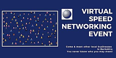 Virtual Speed Networking Berkshire tickets