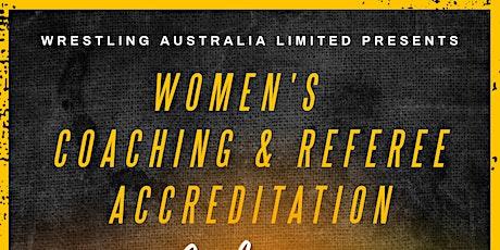 Women's Coaching & Referee Clinic tickets