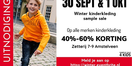 Sample Sale wintercollectie | 30 september & 1 oktober tickets