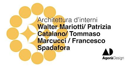#AgoraDesign2021 - Architettura d'interni biglietti