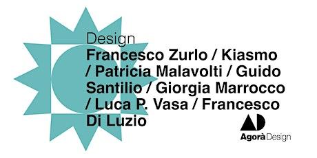 #AgoraDesign2021 - Design biglietti