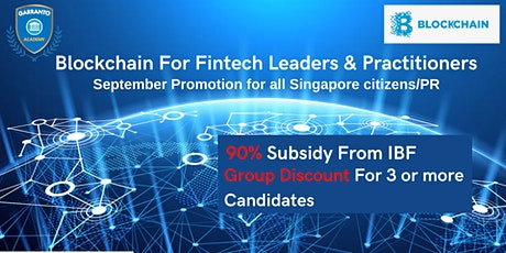 Blockchain For Fintech Leaders & Practitioners tickets