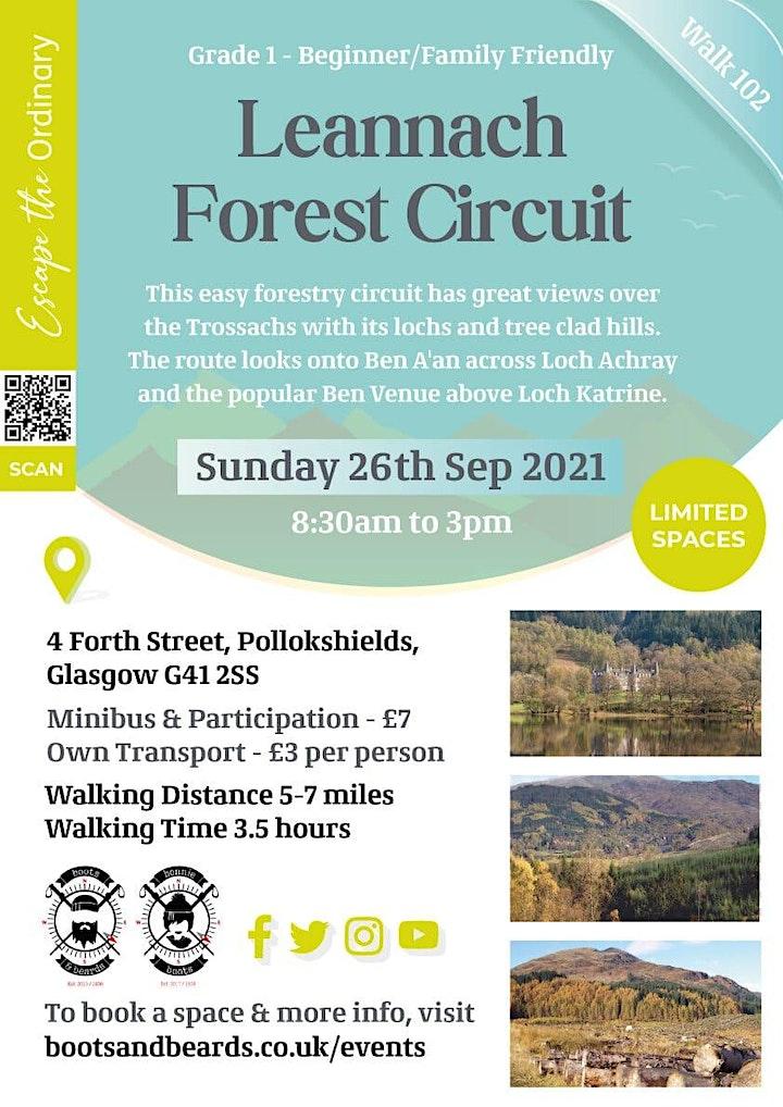 Leannach Forest Circuit Track Walk image