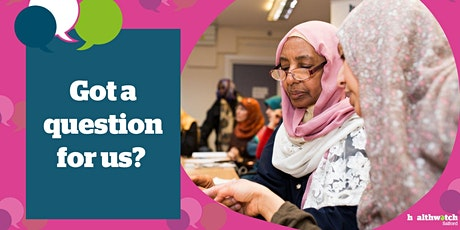 Healthwatch Salford Annual General Meeting 2021 tickets