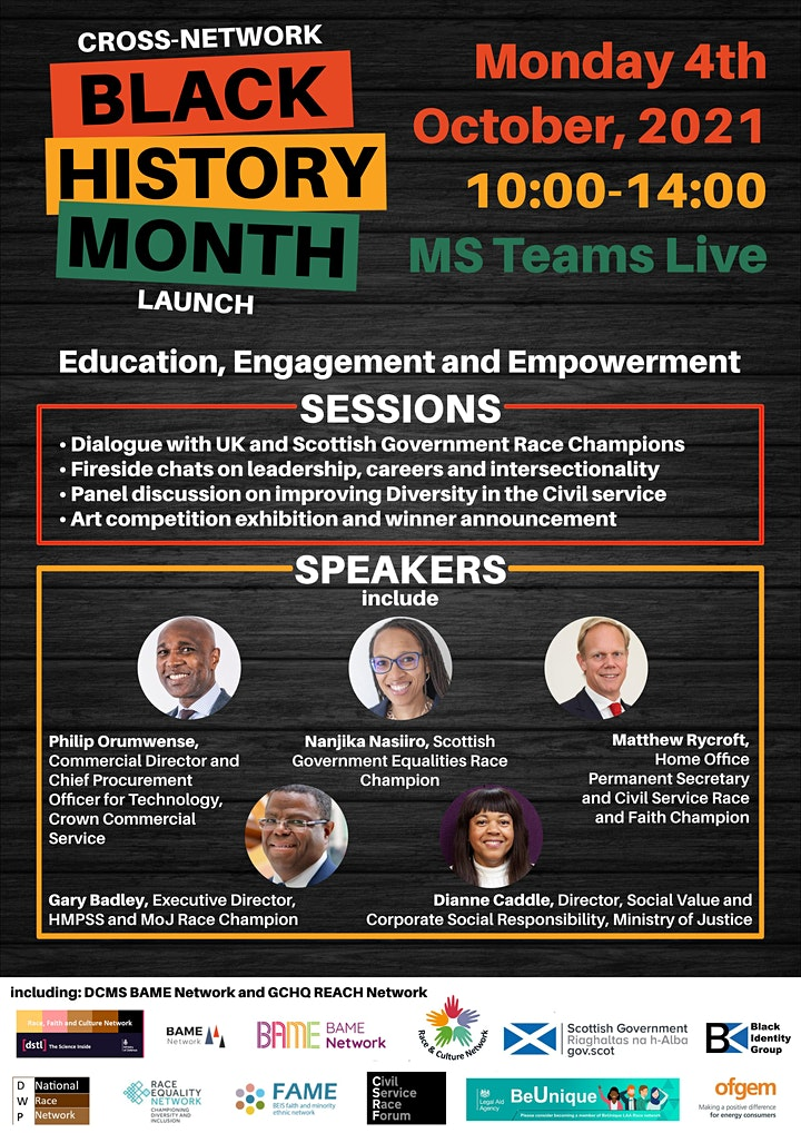 Cross-Network Black History Month Launch image