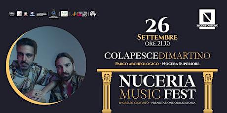 Colapesce-Di Martino / Nuceria Music Fest biglietti
