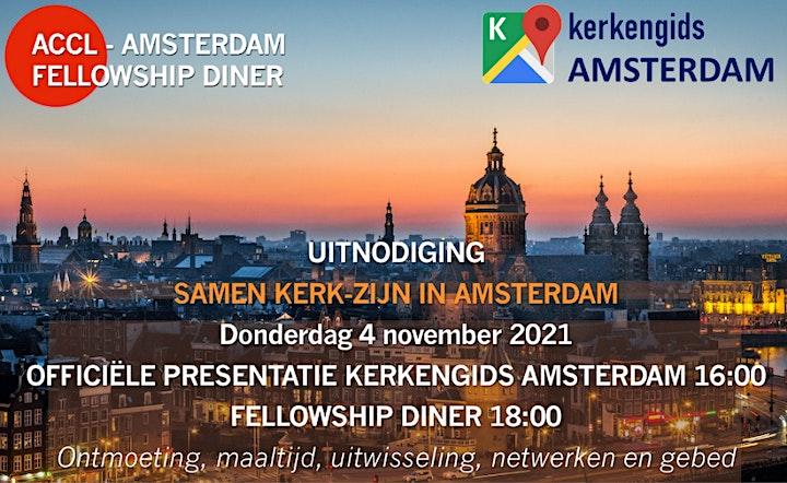 Afbeelding van ACCL Presentatie Kerkengids en Fellowship diner