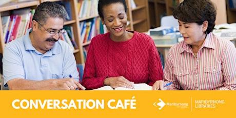 Conversation Café - Footscray Library tickets