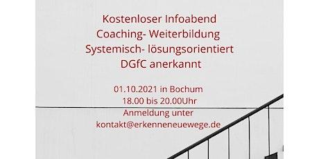 Infoabend Weiterbildung Coach DGfC Tickets