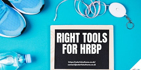 The Right Tools for HRBP webinar tickets