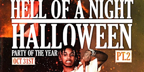 PARTY OF THE YEAR: HELL OF A NIGHT PT2 HALLOWEEN ft DDG tickets