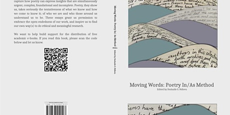 Moving Words Poetry In/As Research BOOK LAUNCH tickets