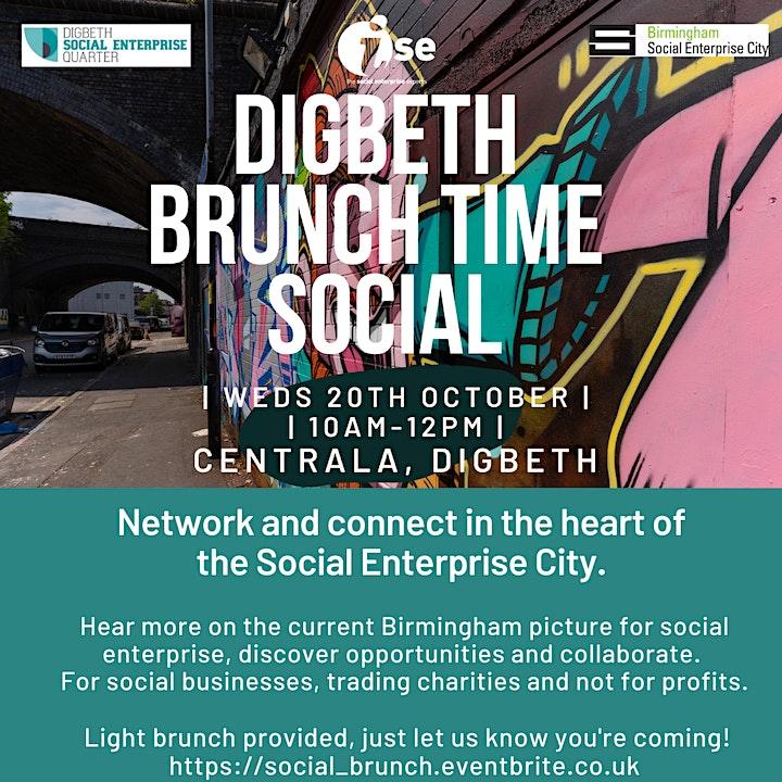 Digbeth Brunch Time Social image