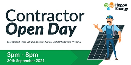 Contractor Open Day tickets