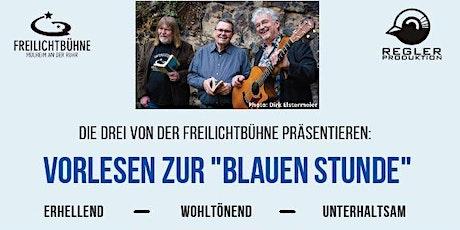"""Vorlesen zur """"Blauen Stunde"""": Liebes-/ Lieblingslyrik Tickets"""