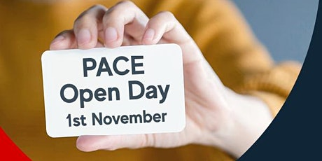 PACE Open Day tickets