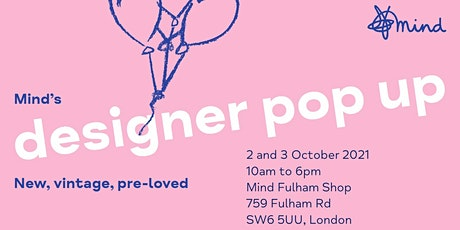 Mind's designer pop up - Fulham Shop tickets
