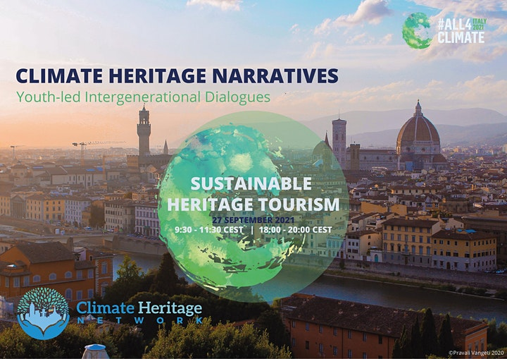 Sustainable Heritage Tourism - Climate Heritage Narratives (Second Session) image