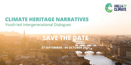 Sustainable Heritage Tourism - Climate Heritage Narratives (Second Session) tickets