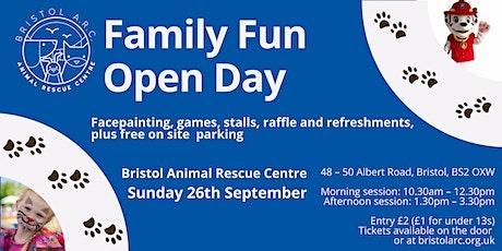 Family Fun Open Day - Bristol Animal Rescue Centre tickets