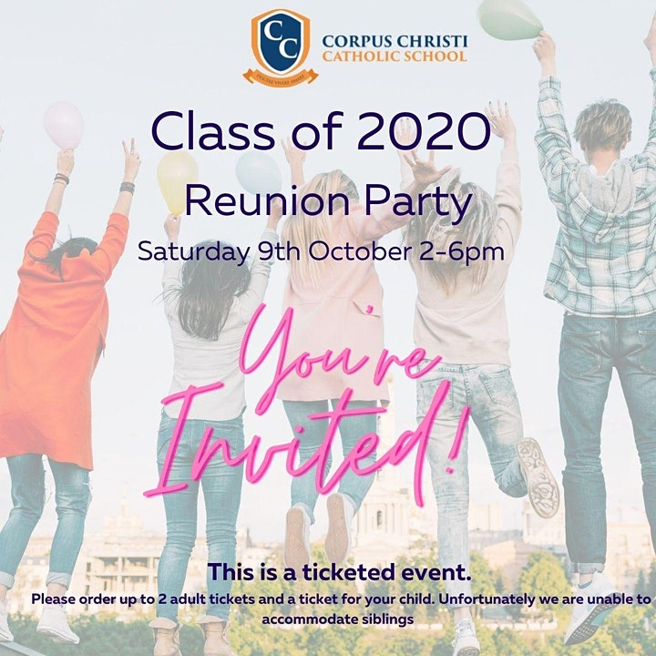 Class of 2020 Reunion Party image
