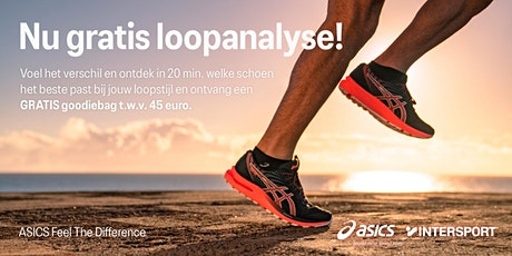 ASICS Feel the Difference Tour - Intersport Den Haag - 30 september tickets