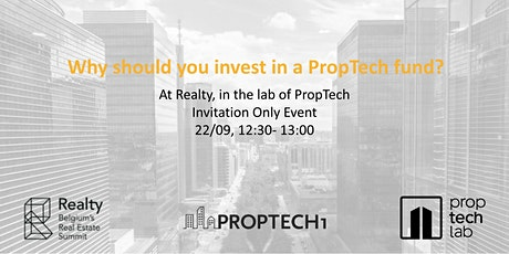 Why should you invest in a PropTech fund ? billets