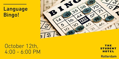 Language Bingo tickets