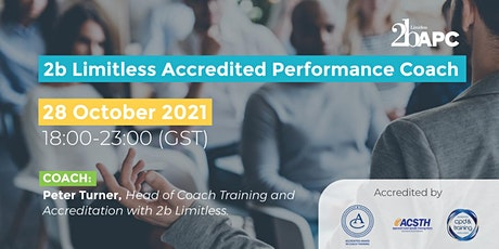 2b Limitless Accredited Performance Coach tickets