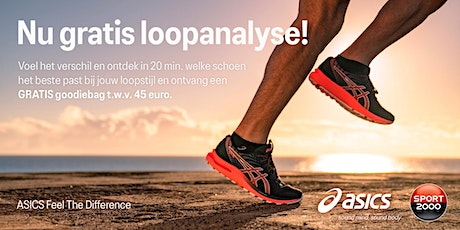 ASICS Feel the Difference Tour - SPORT 2000 Purmerend - 21 oktober tickets