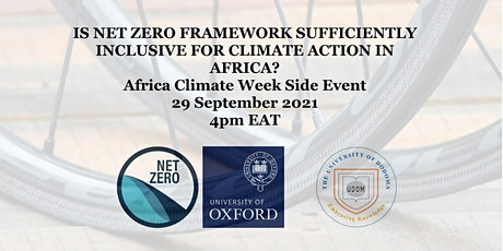 Is Net Zero framework sufficiently inclusive for climate action in Africa? tickets