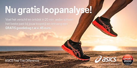 ASICS Feel the Difference Tour - SPORT 2000 Oosterhout - 30 oktober tickets