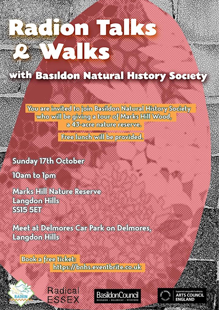 Radion Talks & Walks with Basildon Natural History Society image