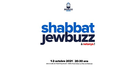 SHABBAT JEWBUZZ @ NETANYA billets