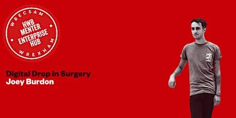 Digital Drop in Surgery : Joey Burdon (in person event) tickets