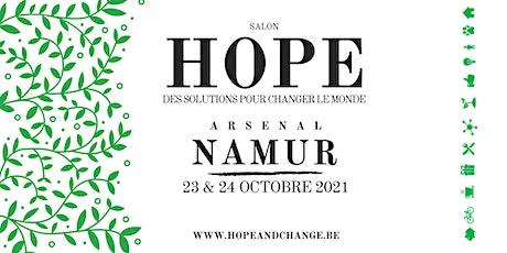 HOPE: des solutions pour changer le monde billets