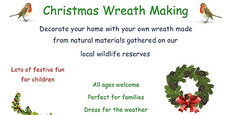 Christmas Wreath Making and Children's Crafts tickets